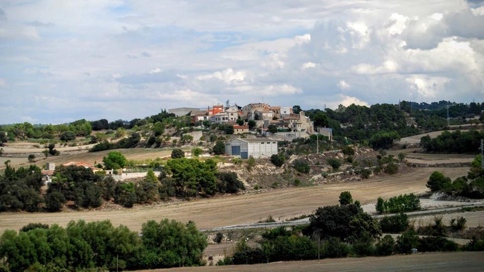 13.09.2015 vista des de sant Antolí  Pomar -  Ramon Sunyer