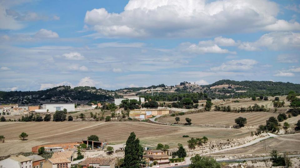 13.09.2015 Montlleó al fons  Sant Antolí i Vilanova -  Ramon Sunyer
