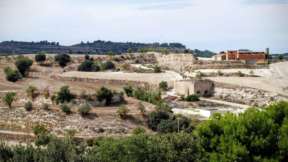 13.09.2015 Antic forn de ciment va funcionar fins els anys 50  Sant Antolí i Vilanova -  Ramon Sunyer