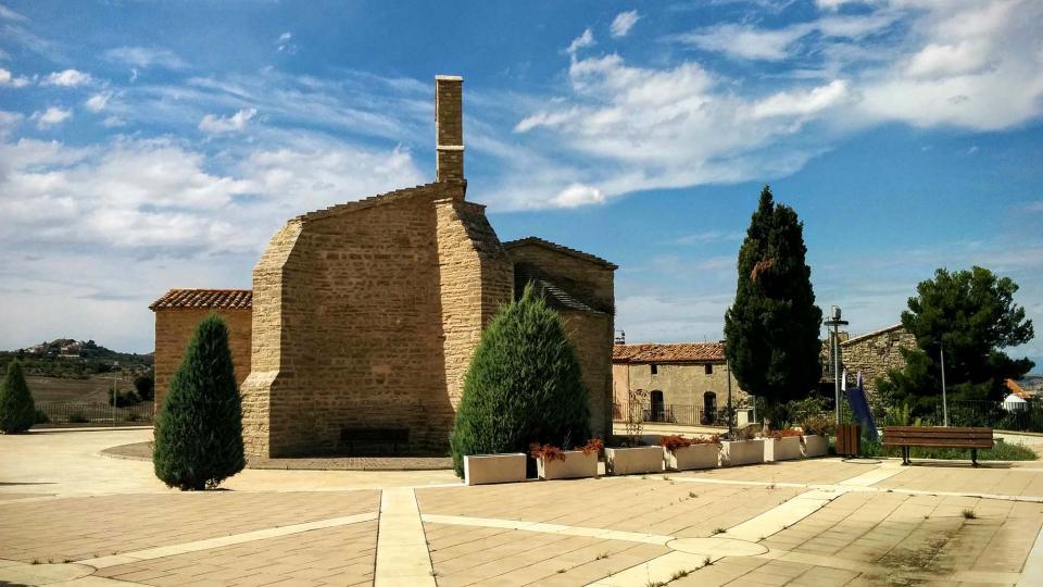 13.09.2015 Església de Sant Antolí  Sant Antolí i Vilanova -  Ramon Sunyer