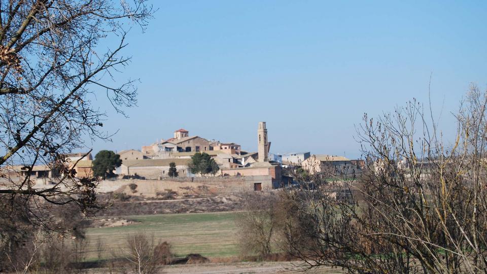 24.01.2016 vista general  Sant Martí de la Morana -  Ramon Sunyer