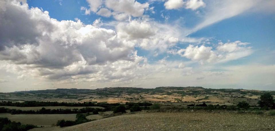 13.09.2015 paisatge  Bellmunt de Segarra -  Ramon Sunyer