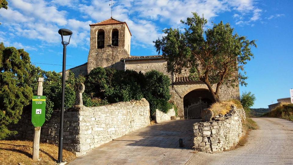 11.07.2014 Església de santa Maria  Civit -  Ramon Sunyer
