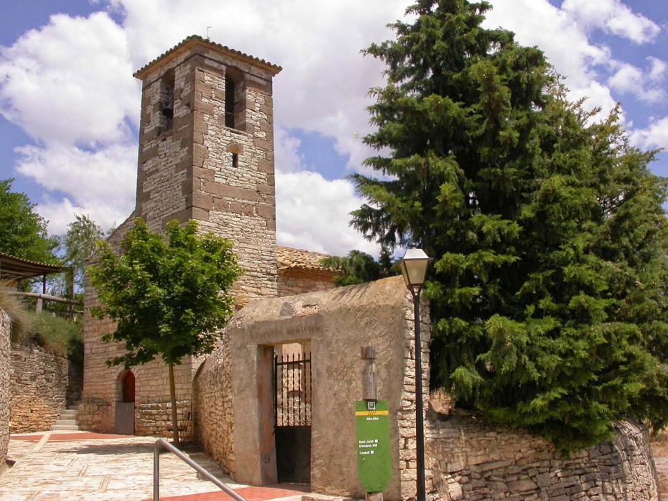 28.01.2016 Església de Sant Jordi   Alta-riba -  Ramon Sunyer