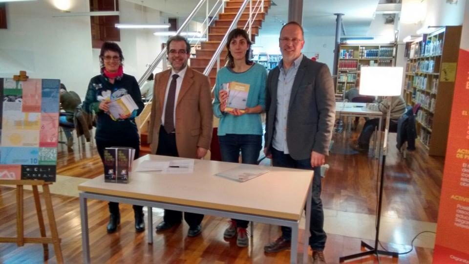 02.02.2016 presentació de les bases de l'11a edició del premi literari 7lletres  Cervera -  Ramon Armengol