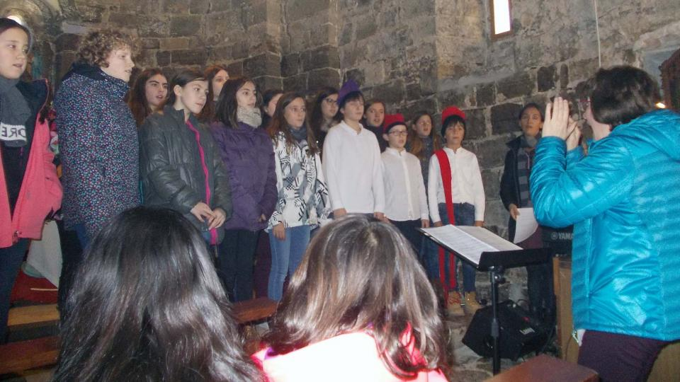 25.01.2016 Concert de la Coral Infantil Nova Cervera  Malgrat -  Joan Riu