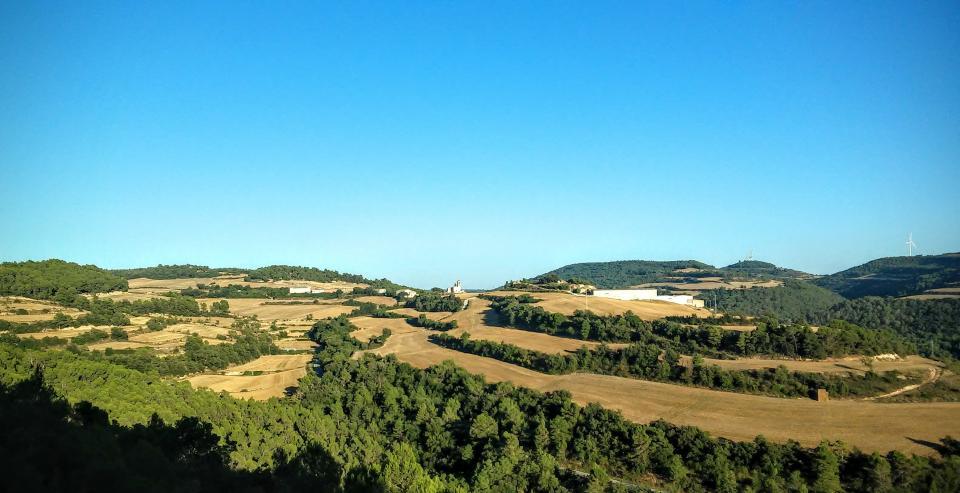 26.08.2014 vista  L'Albió -  Ramon Sunyer