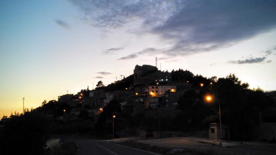 11.07.2014 posta de sol  La Guàrdia Lada -  Ramon Sunyer