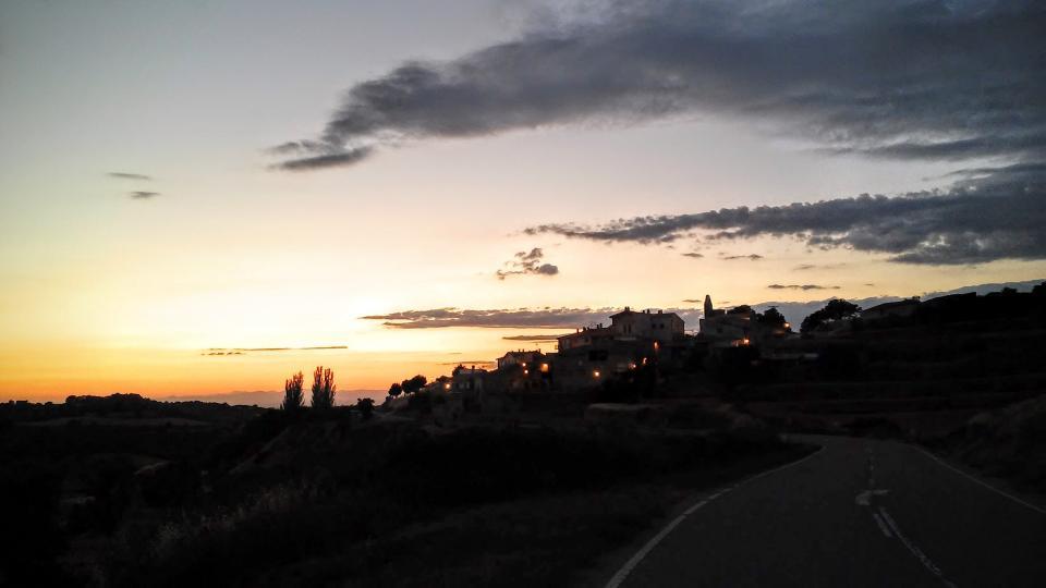 11.07.2014 posta de sol  Cabestany -  Ramon Sunyer