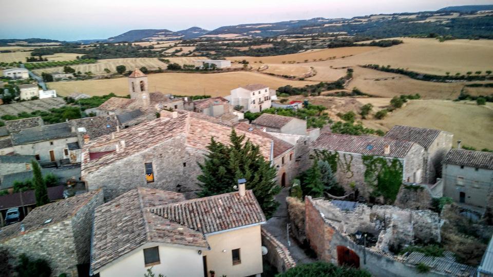 11.07.2014 vista des de la torre  L'Ametlla de Segarra -  Ramon Sunyer