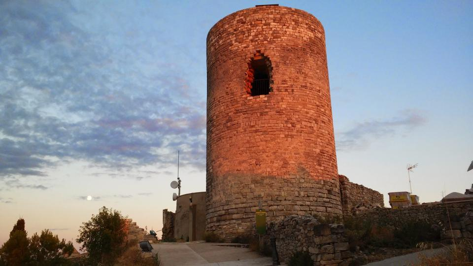 11.07.2014 torre romànica s. XI  L'Ametlla de Segarra -  Ramon Sunyer
