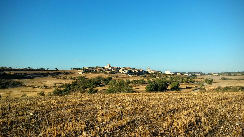 26.08.2014 vista  L'Ametlla de Segarra -  Ramon Sunyer