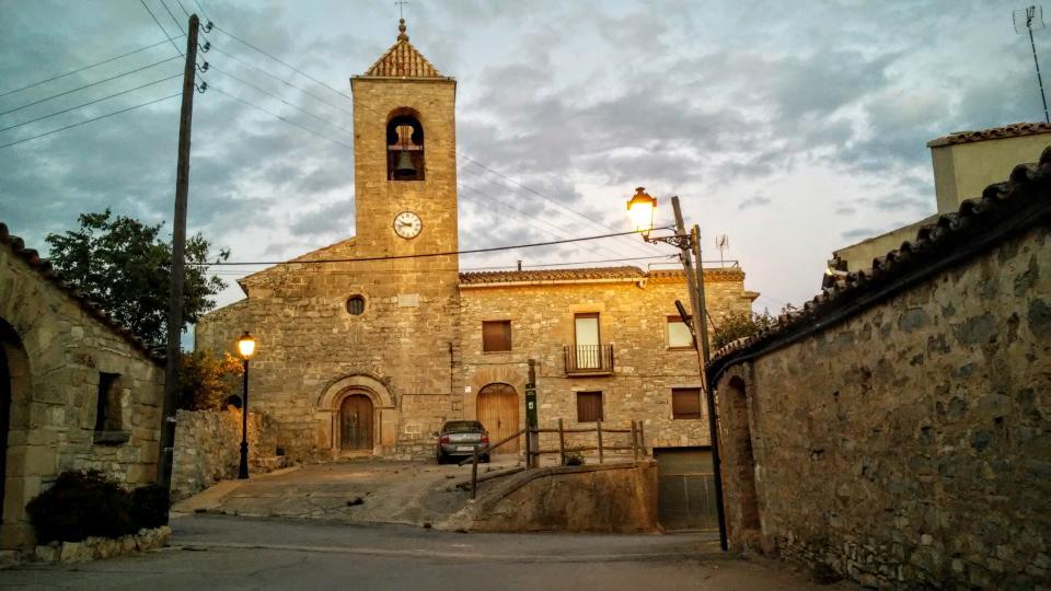 11.07.2014 Església de sant Pere  L'Ametlla de Segarra -  Ramon Sunyer