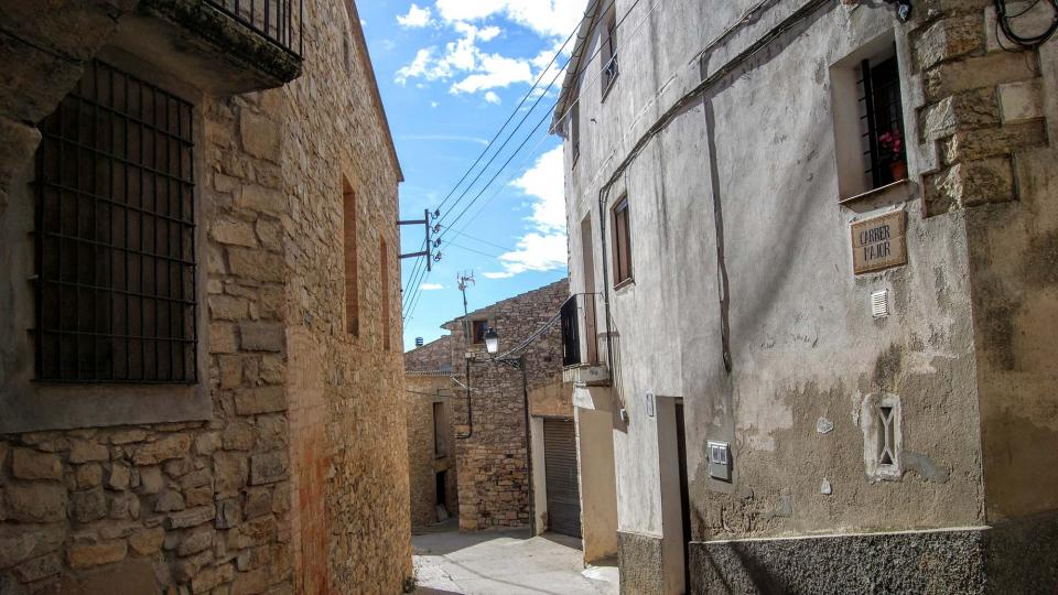 07.02.2016 carrer major  Montoliu de Segarra -  Ramon Sunyer