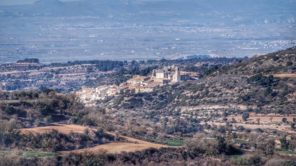 07.02.2016 vista des de Suró  Montoliu de Segarra -  Ramon Sunyer