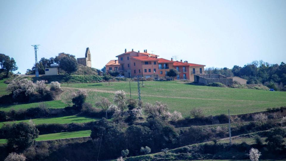 07.02.2016 vista des de Montoliu  Cabestany -  Ramon Sunyer