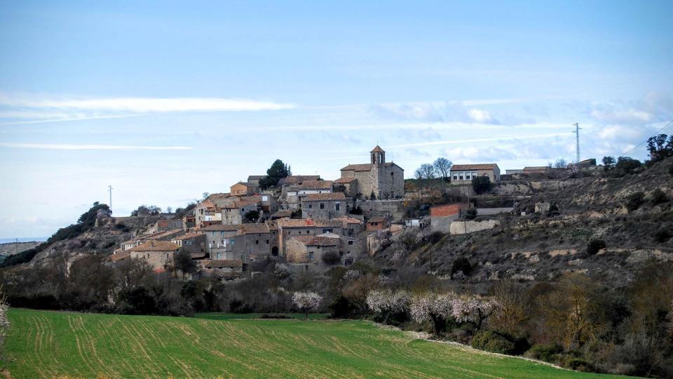 07.02.2016 vista sud  Vilagrasseta -  Ramon Sunyer