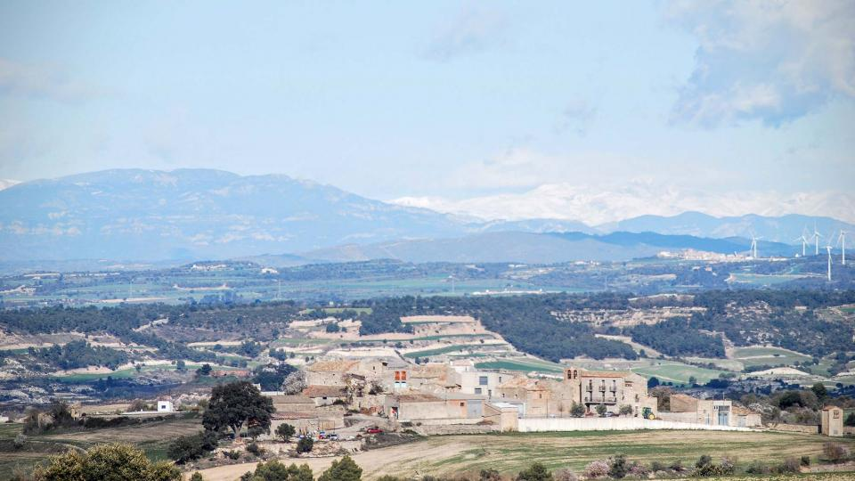 07.02.2016 Vista des de la Guardia Lada  Llindars -  Ramon Sunyer
