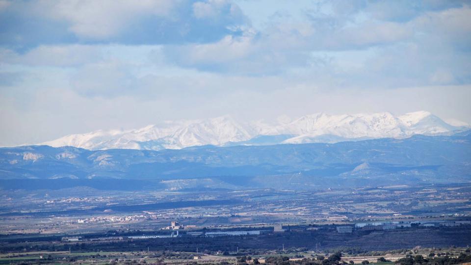 07.02.2016 vista del Montsec  La Guàrdia Lada -  Ramon Sunyer