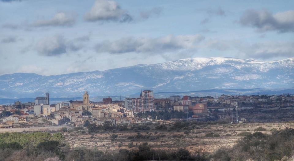 08.02.2016 El Port del Comte de fons  Cervera -  Ramon Sunyer