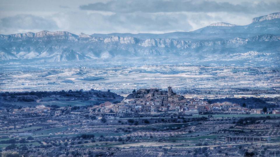 08.02.2016 El Montsec de fons  Granyena de Segarra -  Ramon Sunyer
