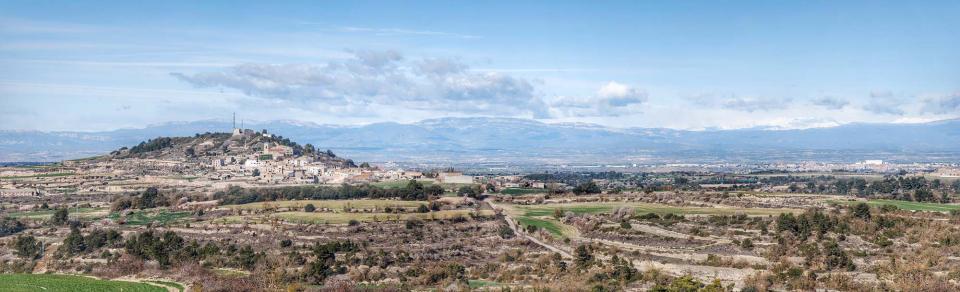 08.02.2016 El Montsec de fons  La Guàrdia Lada -  Ramon Sunyer