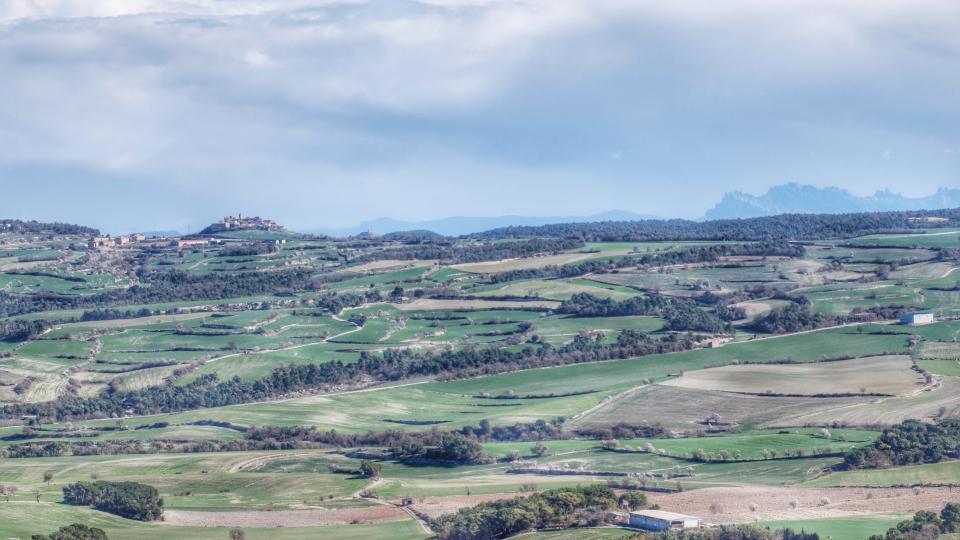 08.02.2016 Vista des de Talavera  Bellmunt de Segarra -  Ramon Sunyer