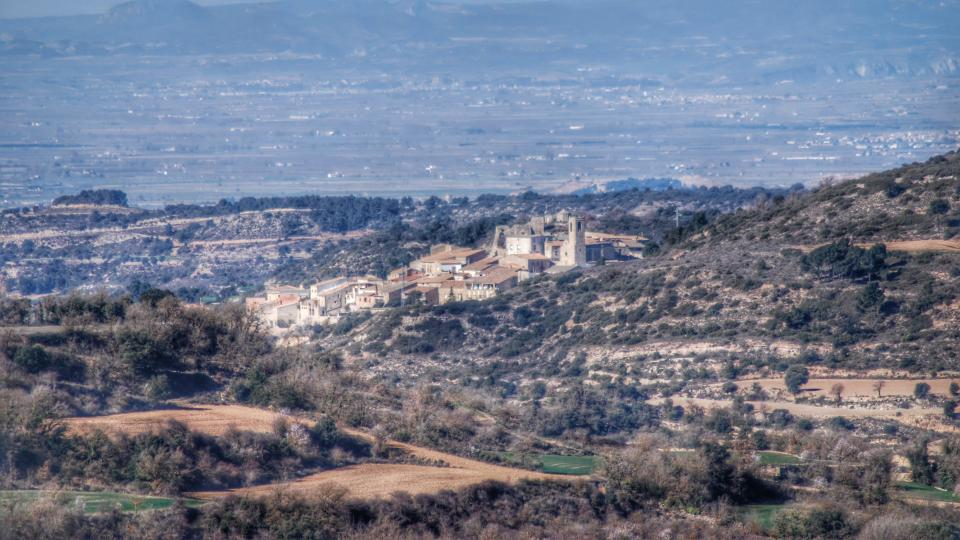 08.02.2016 Vista des de Suro  Montoliu de Segarra -  Ramon Sunyer