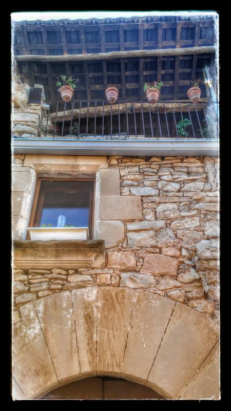 26.08.2014 detall casa  El Mas de Bondia -  Ramon Sunyer