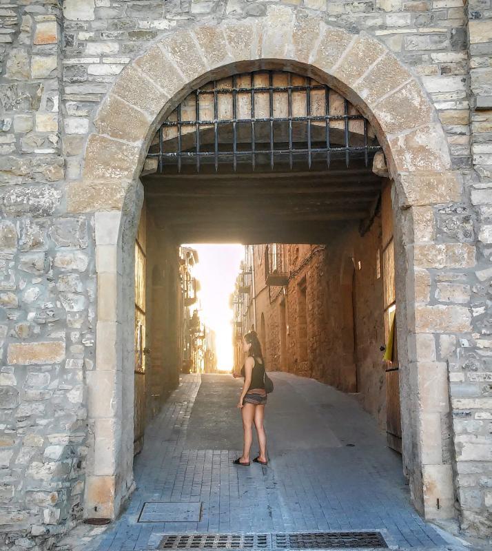 26.08.2014 portal de la vila-closa  El Mas de Bondia -  Ramon Sunyer