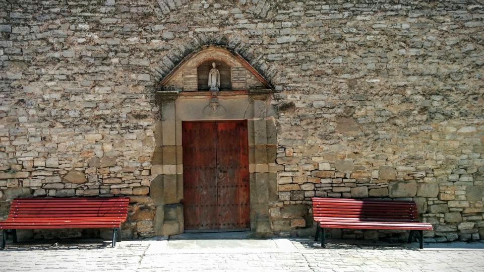 19.04.2015 Església de Sant Martí  La Tallada -  Ramon Sunyer