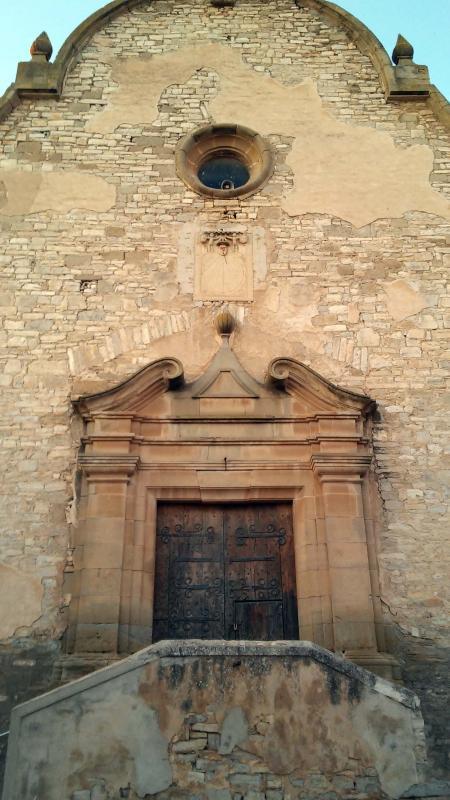 23.08.2014 Santa Maria (s. XVIII) barroc-neoclàssic  Les Oluges -  Ramon Sunyer