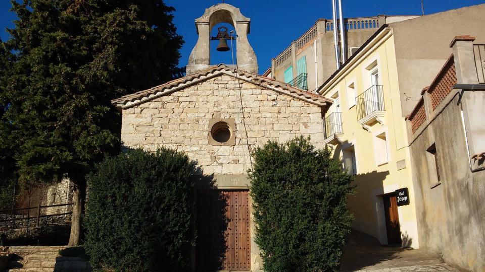 23.08.2014 capella de sant Ramon  Portell -  Ramon Sunyer