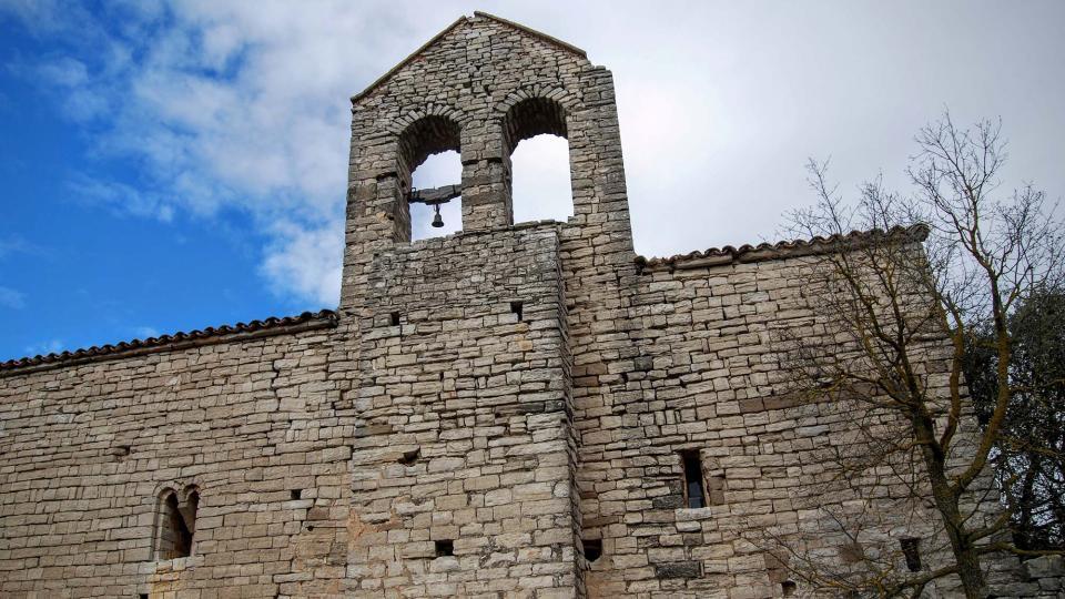 14.02.2016 Església Santa Maria romànic (s. XI-XIII)  Gàver -  Ramon Sunyer