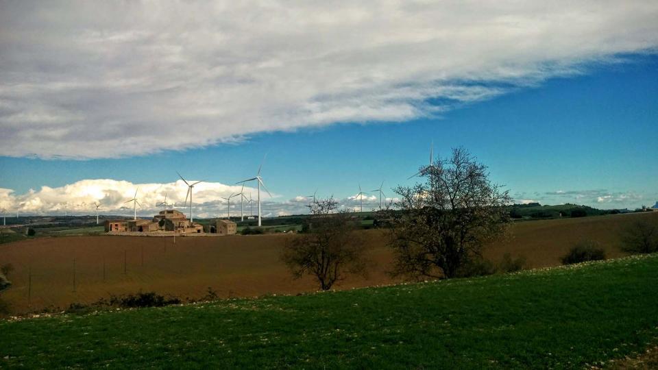 14.02.2016 paisatge  Sant Guim de Freixenet -  Ramon Sunyer