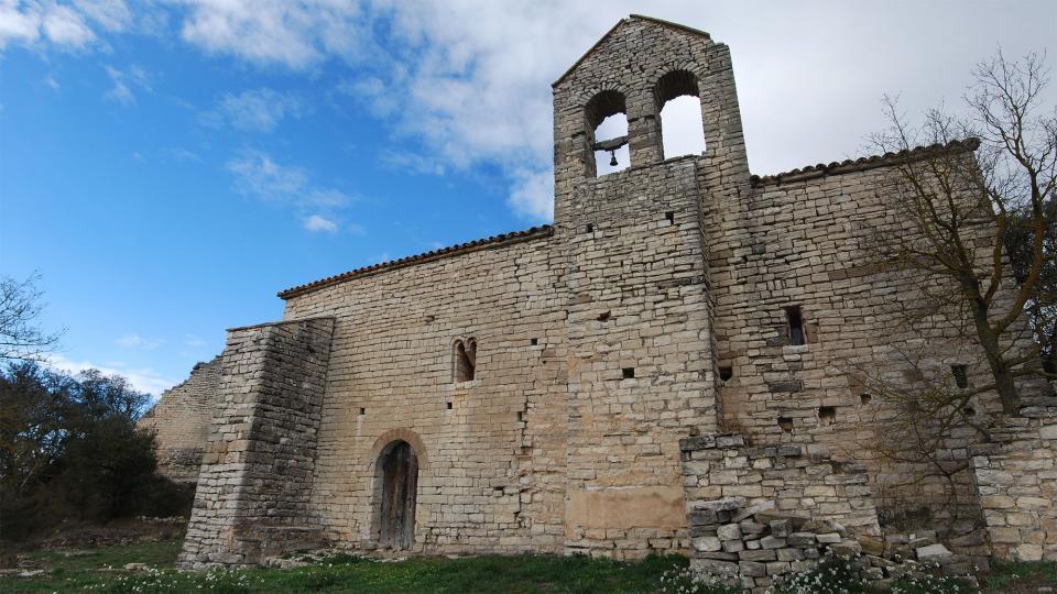 14.02.2016 Església Santa Maria romànic ( s. XI-XIII)  Gàver -  Ramon Sunyer