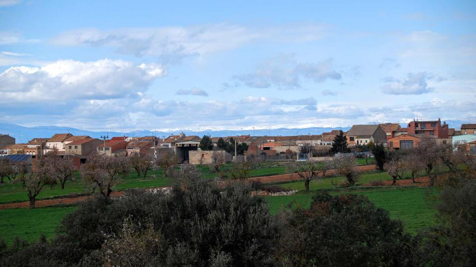 14.02.2016 vista del poble  Sant Ramon -  Ramon Sunyer