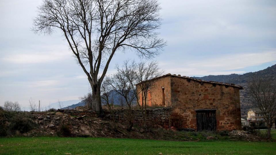 31.01.2016 cabana de teula  Sanaüja -  Ramon Sunyer