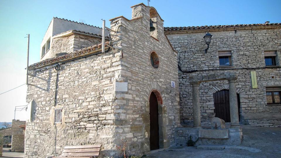 Capella de Sant Salvador - Autor Ramon Sunyer (2016)