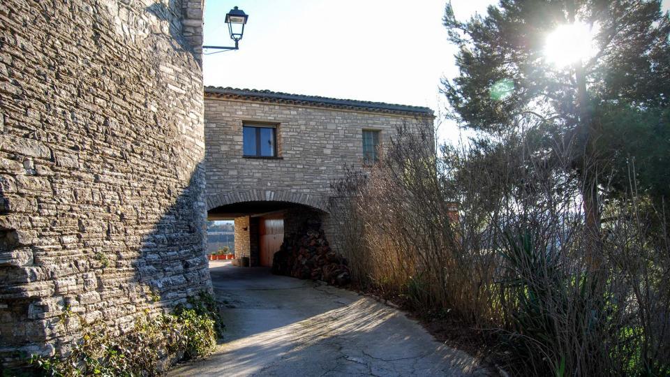 17.02.2016 detall casa  Briançó -  Ramon Sunyer