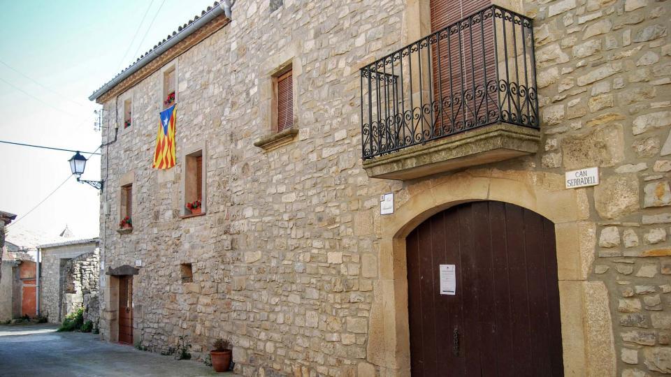 21.02.2016 cases  L'Ametlla de Segarra -  Ramon Sunyer