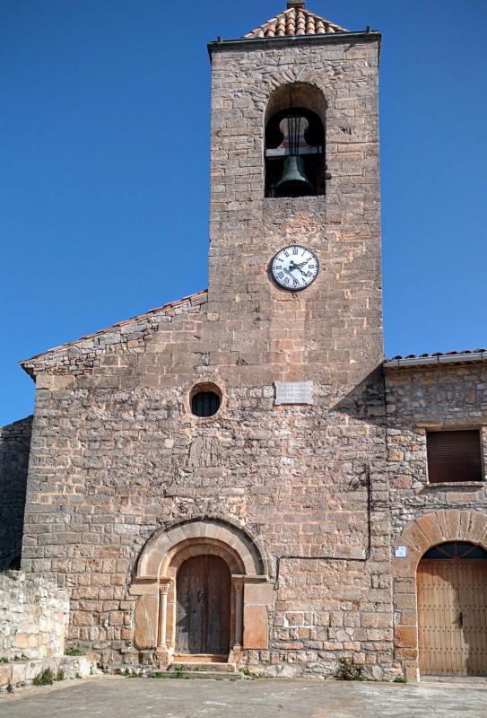 21.02.2016 Església de sant Pere  L'Ametlla de Segarra -  Ramon Sunyer