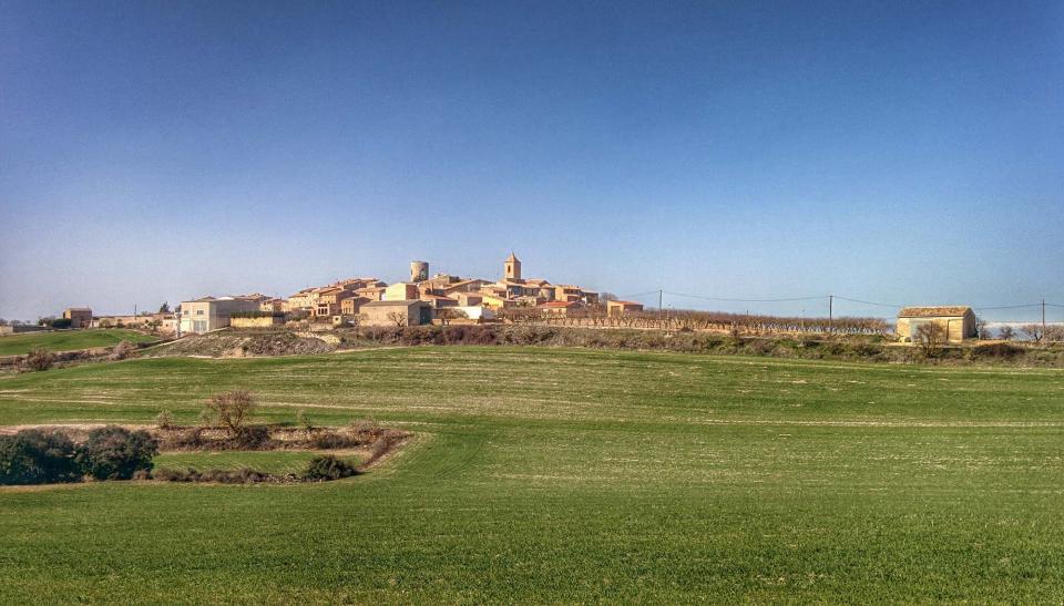 21.02.2016 vista sud  L'Ametlla de Segarra -  Ramon Sunyer