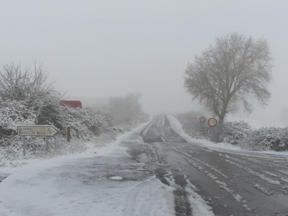 28.02.2016 Carretera a Altadill  Sant Guim de Freixenet -  Daniel Espejo Fraga