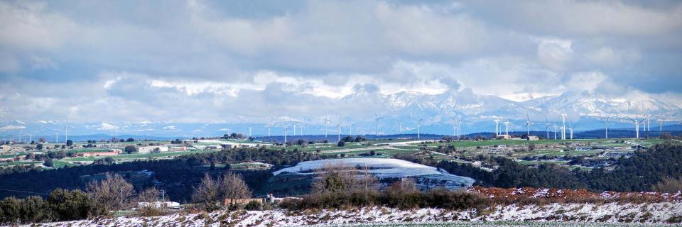 28.02.2016 paisatge nevat  La Panadella -  Ramon Sunyer
