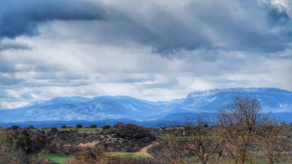 06.03.2016 el montsec  Sant Ramon -  Ramon Sunyer