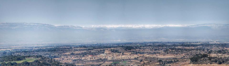 22.02.2016 vista des de l'Ametlla  Montornès de Segarra -  Ramon Sunyer