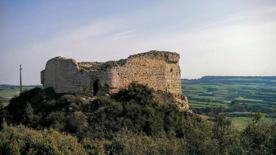 21.02.2016 Castell Guàrdia Lada gòtic s XIV  La Guàrdia Lada -  Ramon Sunyer