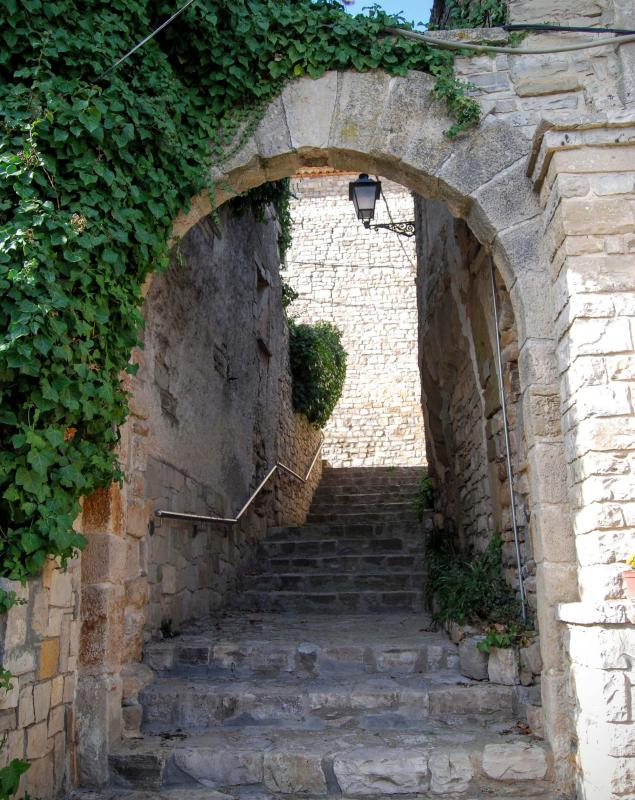 21.02.2016 portal del castell  La Guàrdia Lada -  Ramon Sunyer