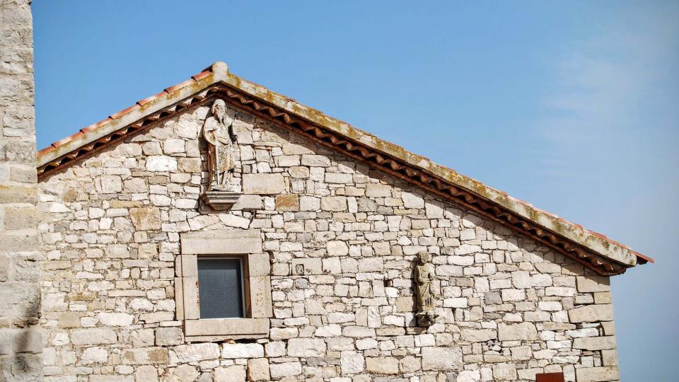 21.02.2016 Església Santa Maria gòtic s XIII  La Guàrdia Lada -  Ramon Sunyer
